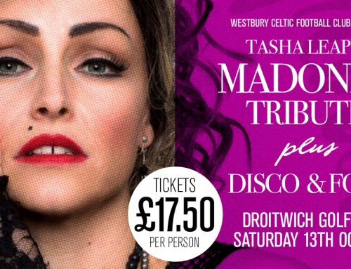 Tasha Leaper is Madonna with Disco and Food